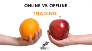 Difference Between Online and Offline Share Trading