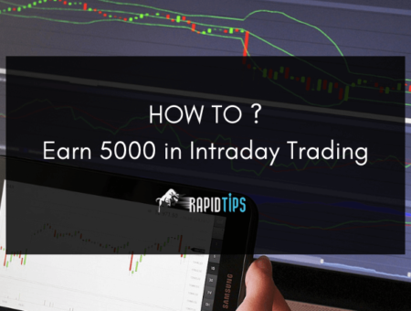 How to Earn 5000 Rs in Intraday Trading?